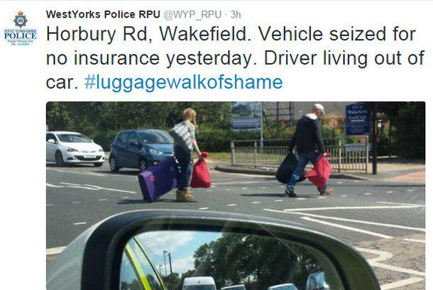 UNILAD police5 West Yorkshire Police Forced To Apologise After Shaming Homeless People