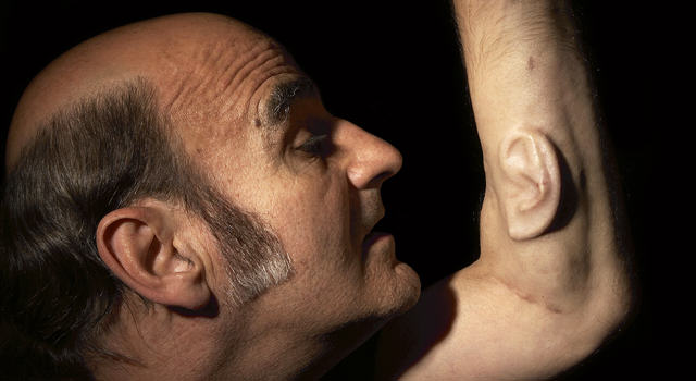 UNILAD stelarc 15 Professor Grows Ear On His Arm That Connects To The Internet, Yep
