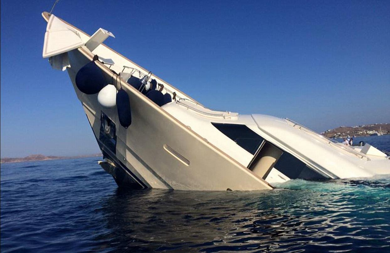 UNILAD yacht sink 24 This Incredible £4 Million Yacht Just Sunk And Is Now Destroyed