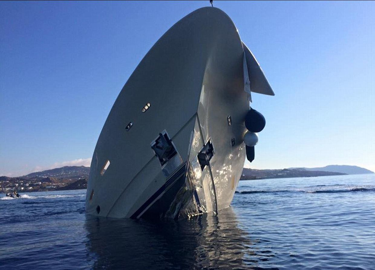 UNILAD yacht sink 34 This Incredible £4 Million Yacht Just Sunk And Is Now Destroyed