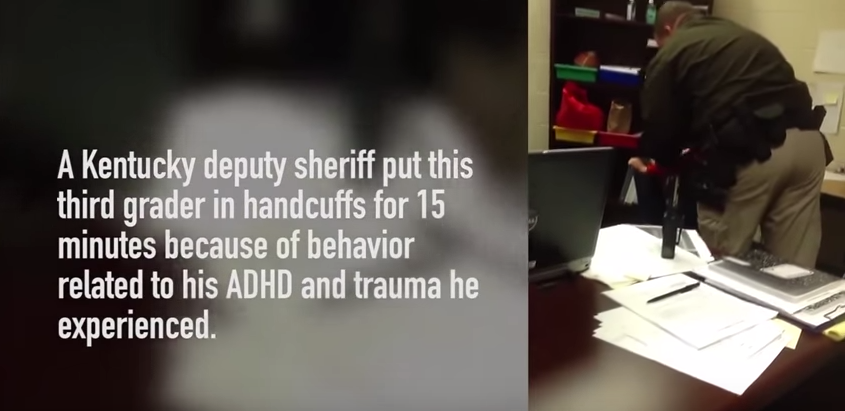 p9rmX5ca0 Boy With ADHD Handcuffed At School For Misbehaving