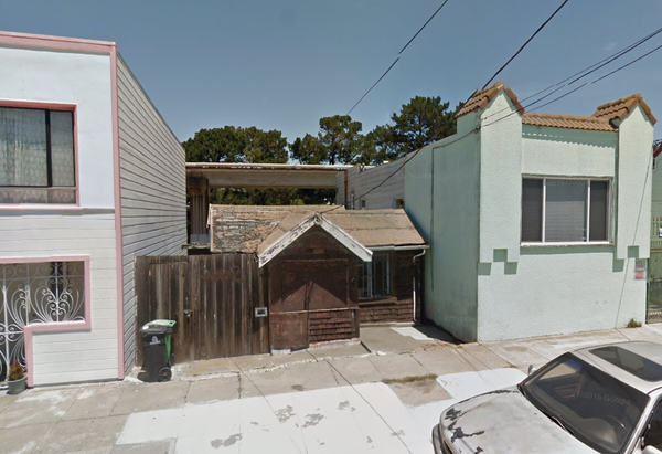 This San Francisco Shack Will Set You Back $350,000 Google Maps