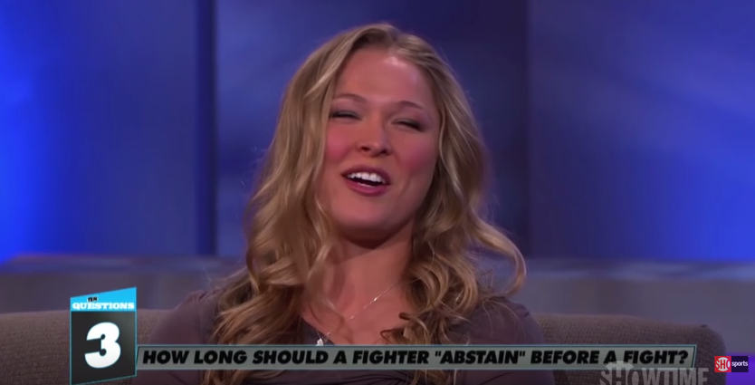 Unilads Ronda Rousey Reveals She Has As Much Sex As Possible Before Fights And Why
