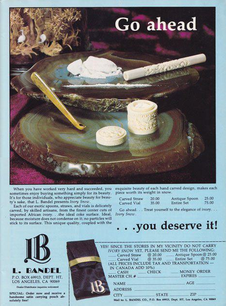 UNILAD 70s35 Shameless Cocaine Accessories Show The 70s Were A Helluva Time To Be Alive