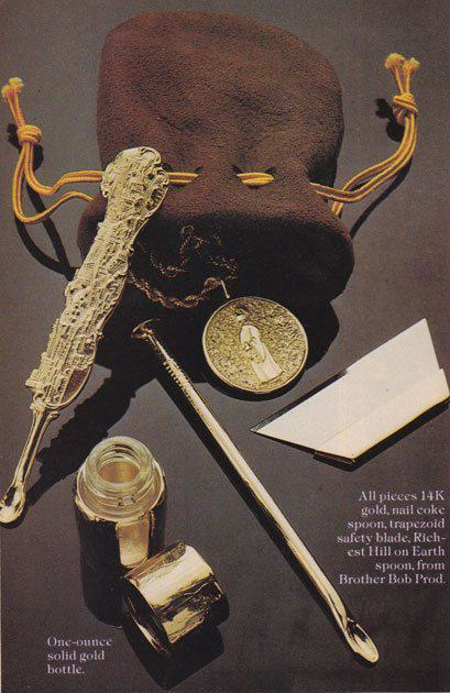 UNILAD 70s58 Shameless Cocaine Accessories Show The 70s Were A Helluva Time To Be Alive