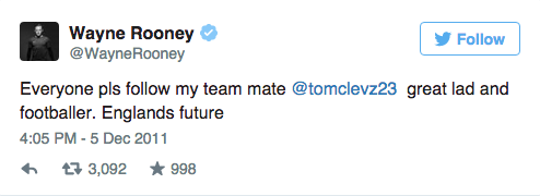 UNILAD Screen Shot 2015 09 09 at 15.05.392 Wayne Rooneys Twitter Account Is An Absolute Goldmine