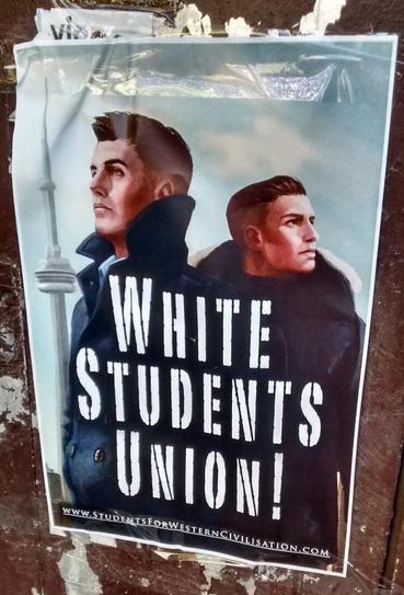 White Supremacists Have Been Promoting Themselves On Canadian University Campuses UNILAD Twitter @fromacpho4