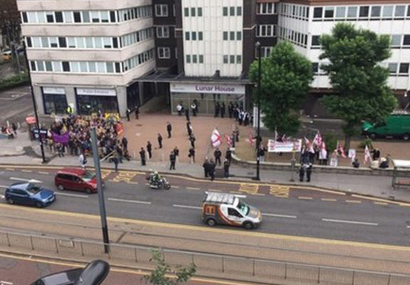 UNILAD bnp web2 BNP Held A Rally In Croydon And No One Showed Up