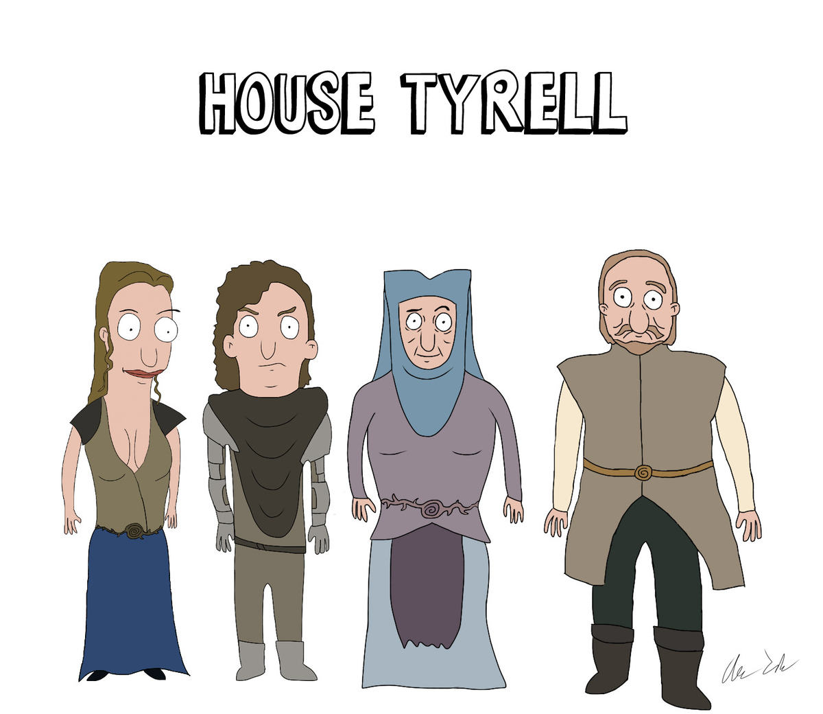 Someone Has Drawn Game Of Thrones Characters In The Style Of Bobs Burgers UNILAD burg77