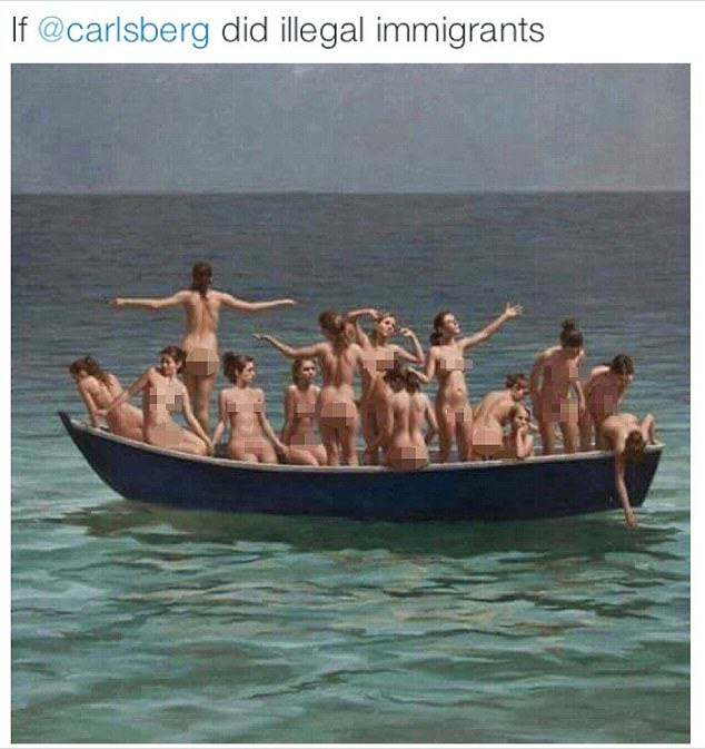 Tory Councillor Posts Photo Of Naked Women With A Pretty Controversial Caption UNILAD carlsberg troy 34