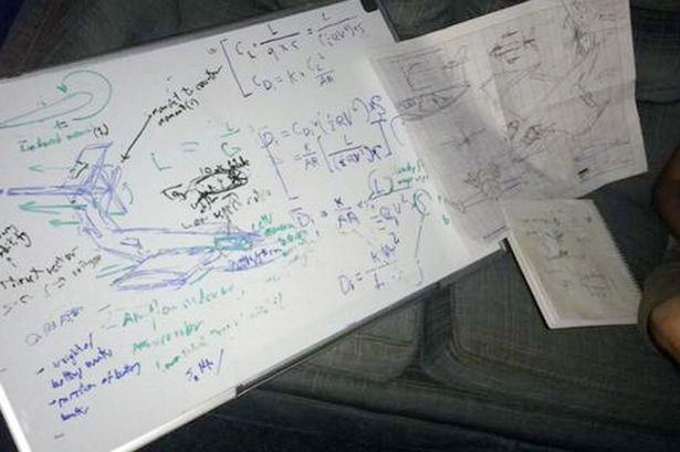 UNILAD drunk plane design 23 Engineering Student Wakes Up To Discover He Designed Entire Plane While Drunk