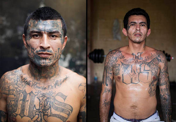 UNILAD el salvador prison WEB 53 The El Salvador Gang Members So Feared That They Police Their Own Jail