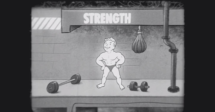 UNILAD fallout33 Fallout 4 Educational Video Shows Importance Of The Strength Attribute