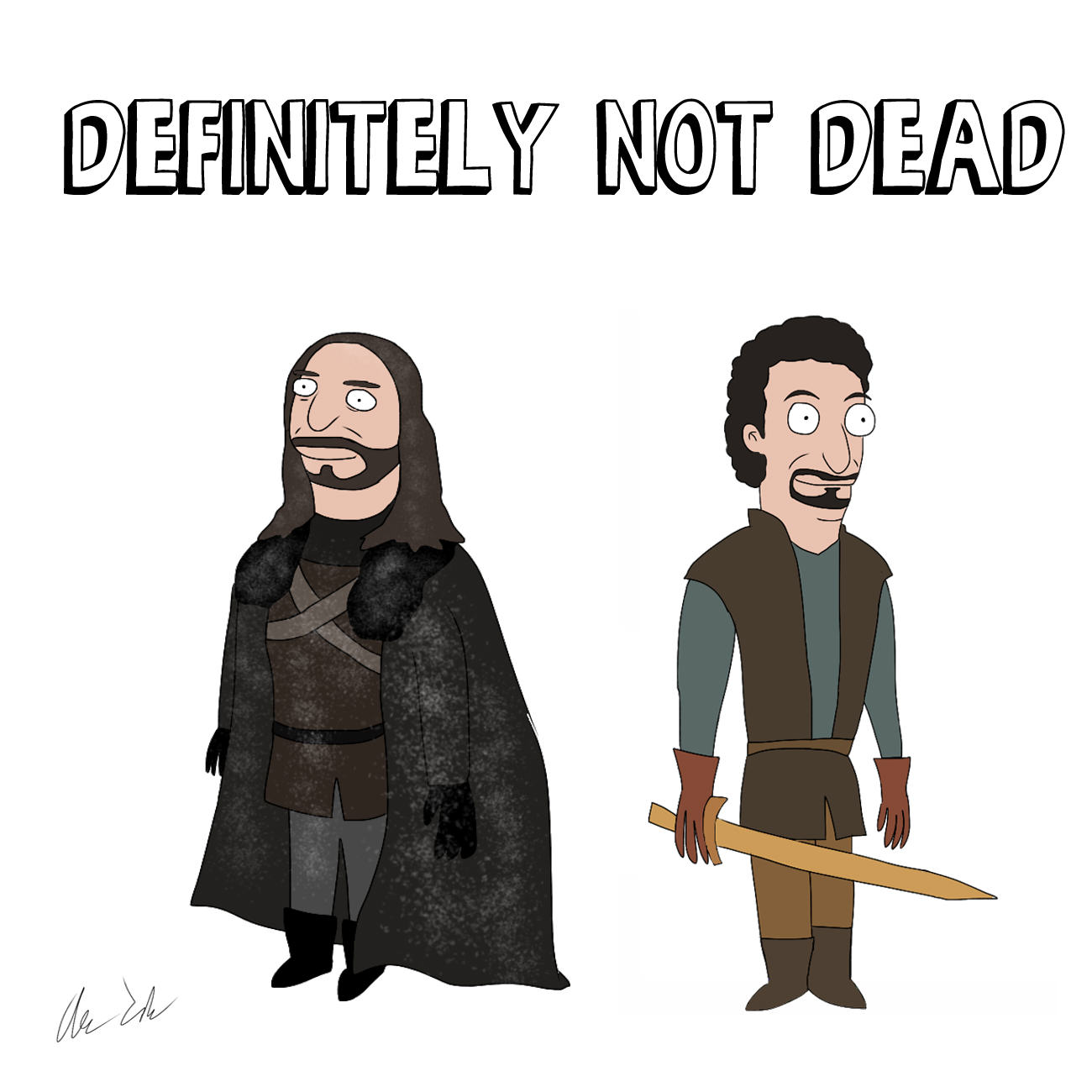 Someone Has Drawn Game Of Thrones Characters In The Style Of Bobs Burgers UNILAD house64