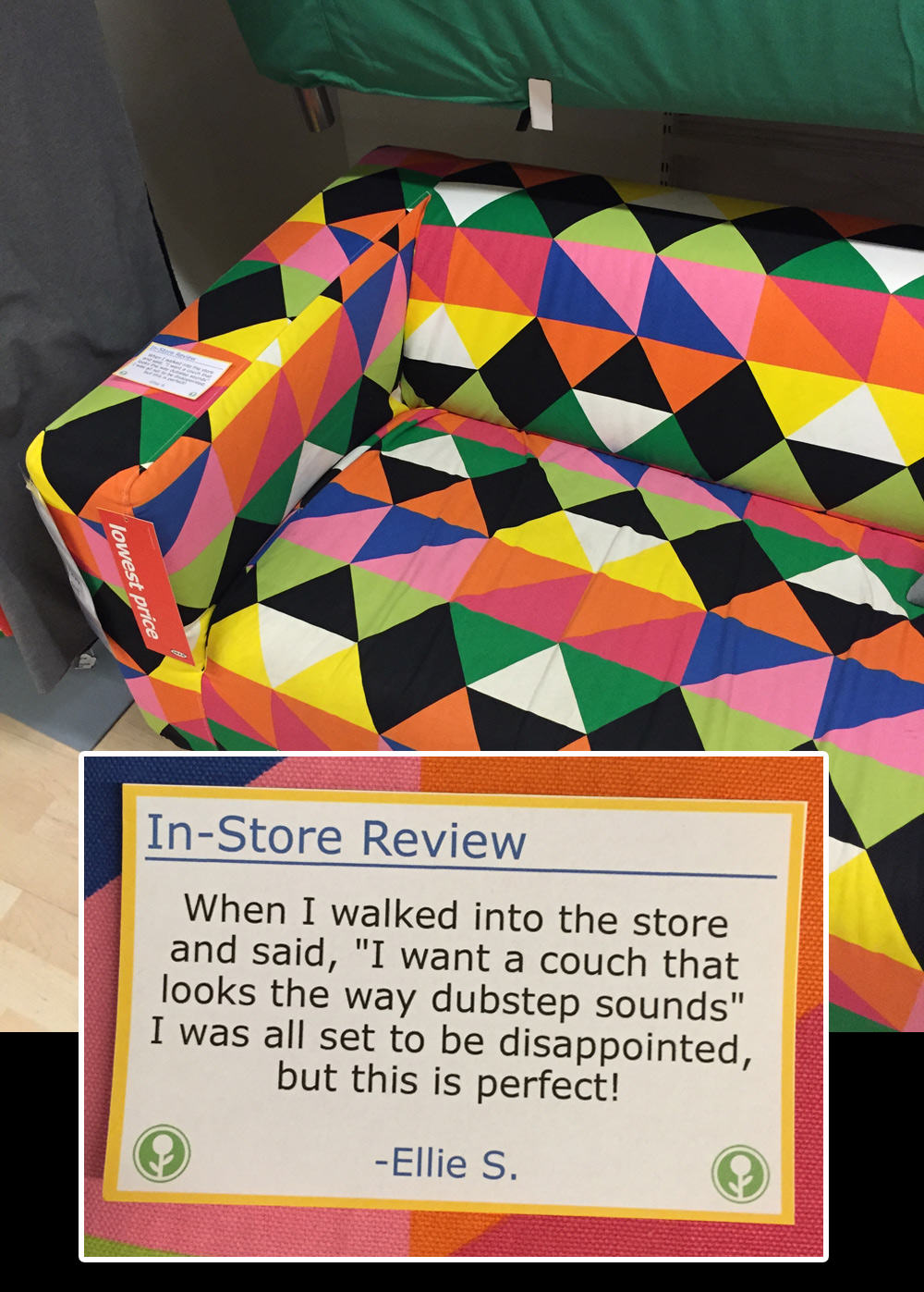 UNILAD ikea12 IKEA Has Been Trolled With Hilarious In Store Reviews