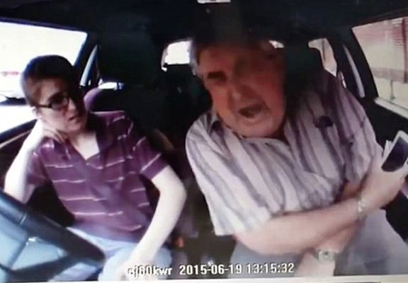 Impatient Driver Shockingly Breaks Driving Instructors Elbow In Road Rage Attack UNILAD learner driver rage WEB6