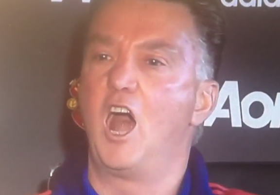 Internet Reacts To Louis Van Gaal Singing His Own Chant At Press Conference