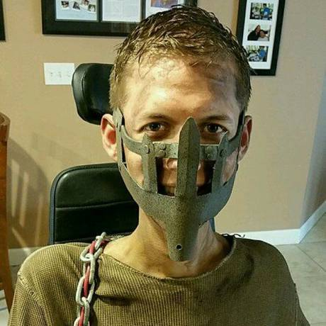 UNILAD mad max wheelchair cosplay bloodbag ben carpenter 27 Disabled Lad Turns His Wheelchair Into Badass Mad Max Cosplay