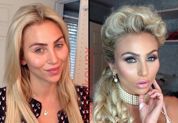 UNILAD porn star make up WEB6 This Is What Porn Stars Look Like Before And After Make Up