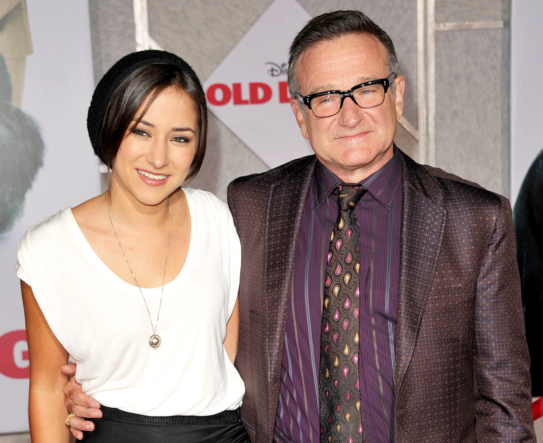 Robin Williams Daughter Posts Moving Tribute One Year After His Suicide UNILAD robin zelda 17