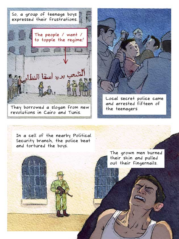 This Cartoon Succinctly Explains The Background To The Syrian Conflict UNILAD syria cartoon 56