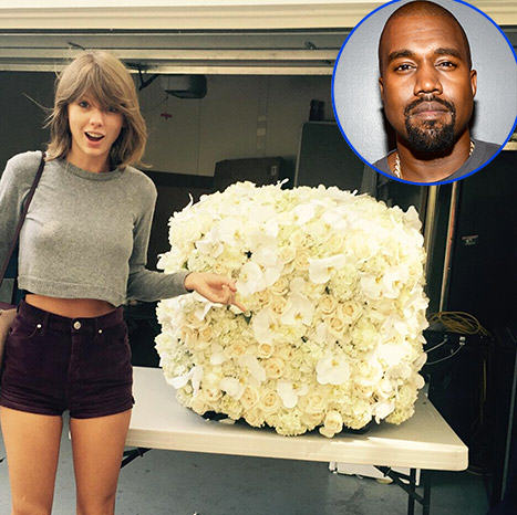 UNILAD ts6 Taylor Swift Gets Flowers From Kanye West, Offers To Be His VP In 2020