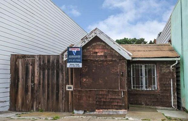 This San Francisco Shack Will Set You Back $350,000 Vanguard Properties Via vanguardproperties.com