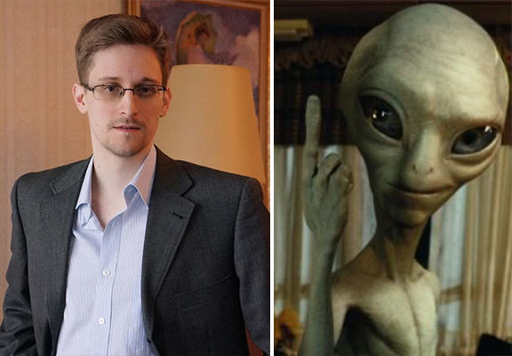 edward snowden aliens WEB Whistleblower Edward Snowden Reckons Aliens Are Trying To Make Contact With Earth