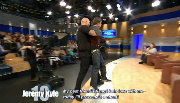 jeremy kyle sex 1 Jeremy Kyle Foursome Who Cant Stop Shagging And Scrapping Removed From Stage