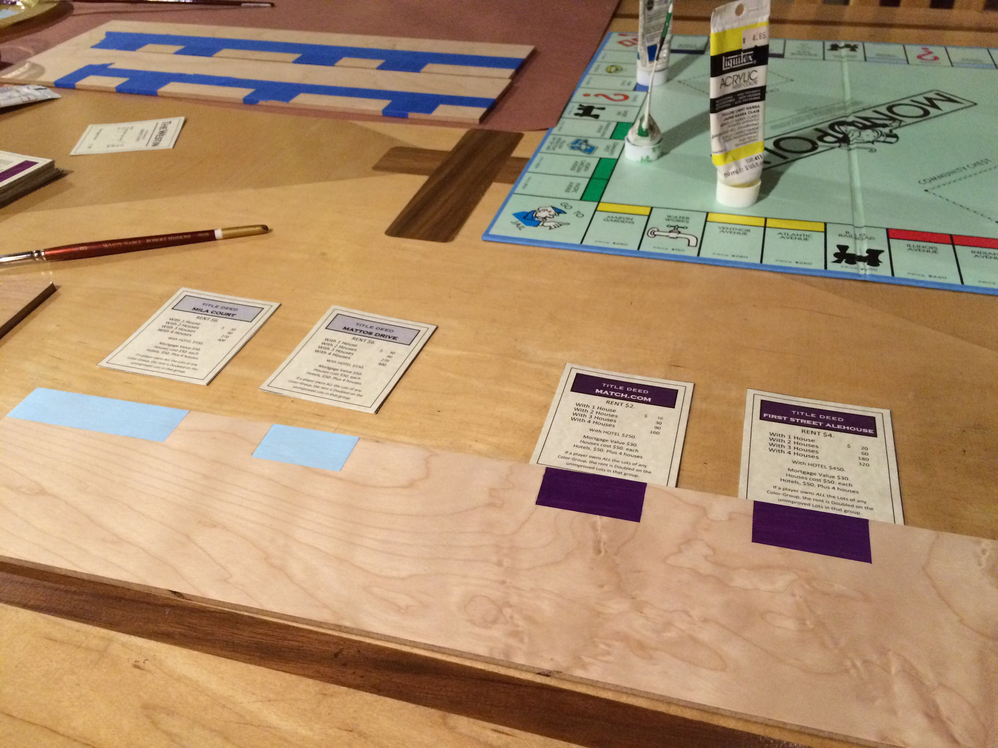 UNILADs Guy Handcrafts Monopoly Board To Propose His Girlfriend In An Amazing Way Image