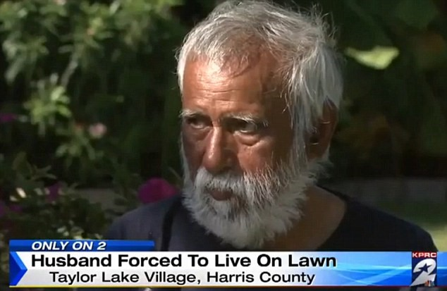 UNILAD 2D27FD8400000578 3262882 Neighbors fear he could die in front of his own house as he is a m 76 14441959011747 Wealthy Man Forced To Live On His Lawn For Months After Being Locked Out