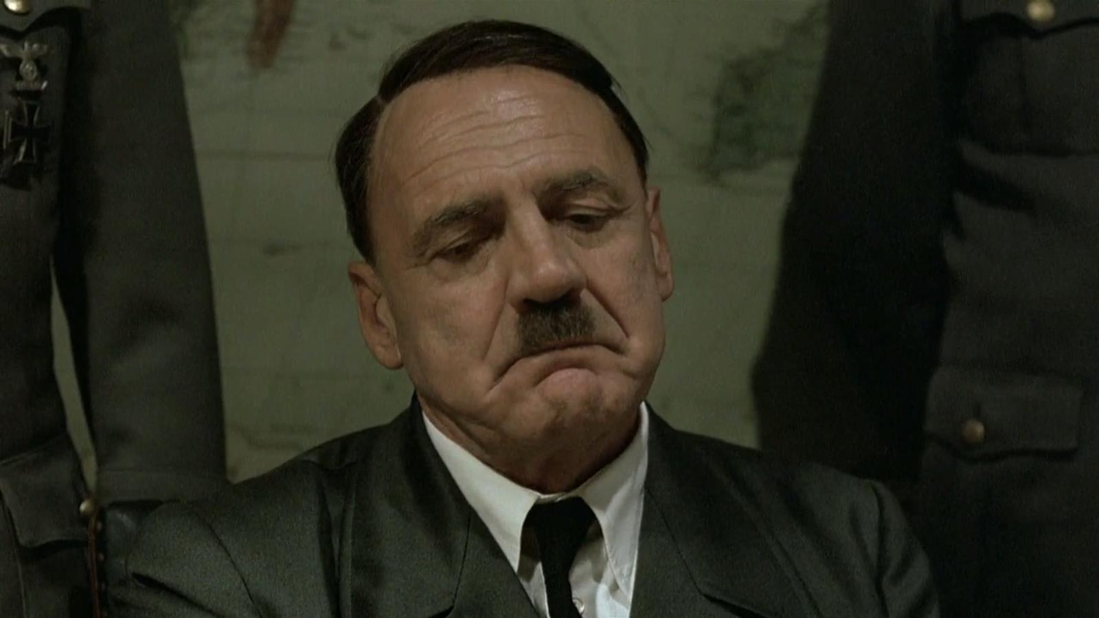 UNILAD Hitlers long face   sad face83510 New York Times Asks Could You Kill Baby Hitler? Internet Responds Accordingly
