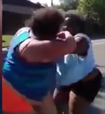 UNILAD Untitled 114 Brutal Footage Shows Two Women In Daylight Street Fight