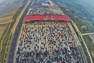 This Traffic Jam Footage From A 50 Lane Chinese Motorway Is Ridiculous