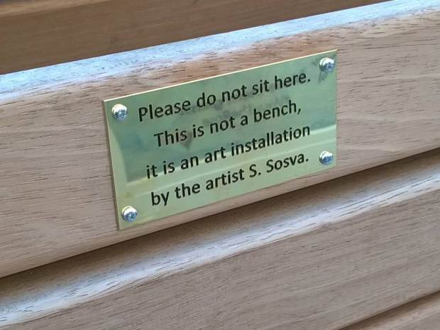 UNILAD ad 18475307338970 Council Remove Funny Spoof Plaques From Benches As They Might Offend People