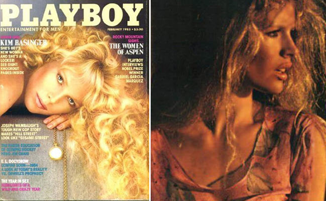Here Are The 10 Most Iconic Playboy Centrefolds UNILAD basinger spread4