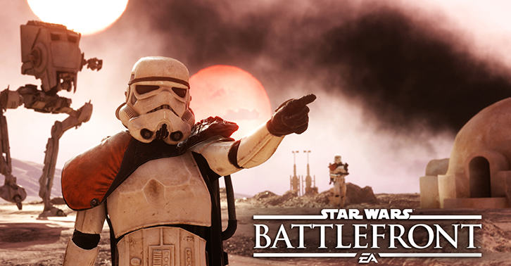 The Star Wars Battlefront Gameplay Launch Trailer Has Finally Landed UNILAD battlefront7868990044