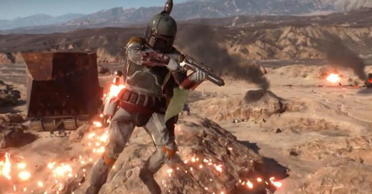 UNILAD boba32 Boba Fett Isnt In The Battlefront Beta, But His Voice Files Are