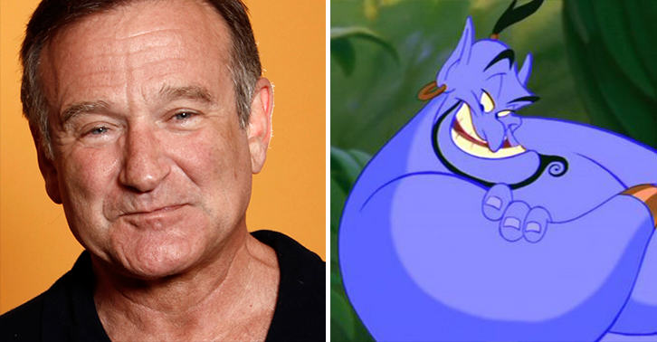 UNILAD genie williams 33 Incredible New Outtakes From Aladdin Show Robin Williams At His Manic Best