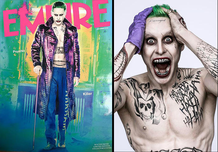 Jared Leto Says Playing The Joker Was Like Giving Birth Out Of My Prick Hole UNILAD leto joker empire WEB88724