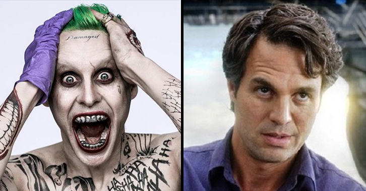 UNILAD leto ruffalo 45 Jared Leto And Mark Ruffalo Attended New York Comic Con In Disguise