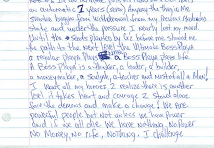 UNILAD pac43 Letter Penned By Tupac From Prison Before His Death Is Leaked