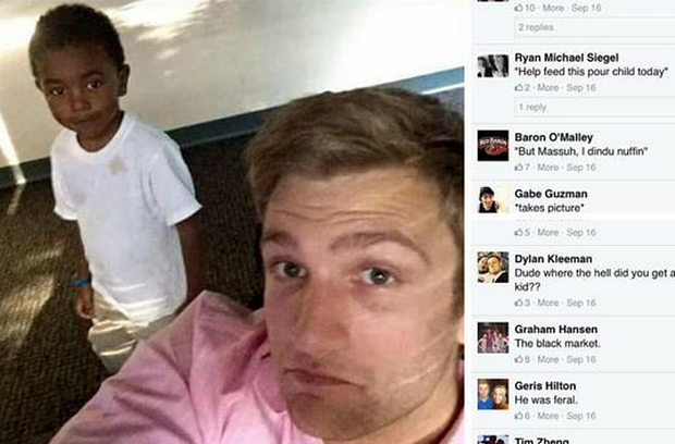 UNILAD racist 4 18 Internet Strikes Back And Beats Racist Facebook Users Who Mocked Black Boy