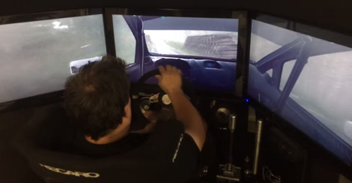 UNILAD rally9380284720 Real Rally Driver Absolutely Owning A Track On Rally Game
