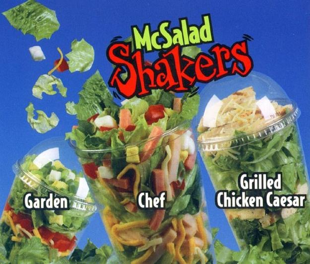 UNILAD salad12 Discontinued McDonalds Food Items You Forgot Existed