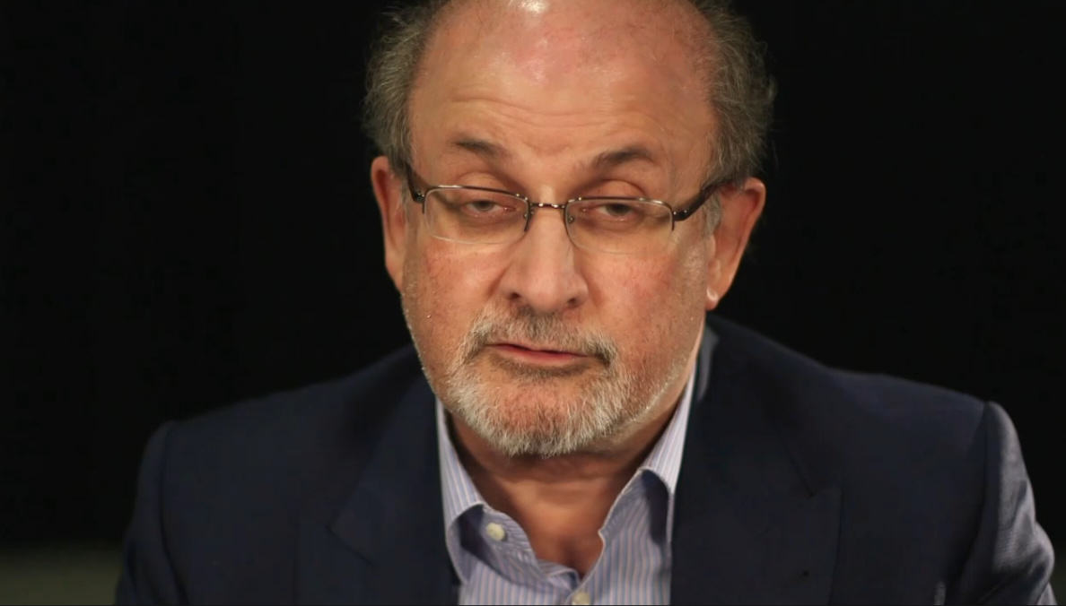 Watching Novelist Salman Rushdie Read Drake Lyrics Is Strange And Funny UNILAD salman3