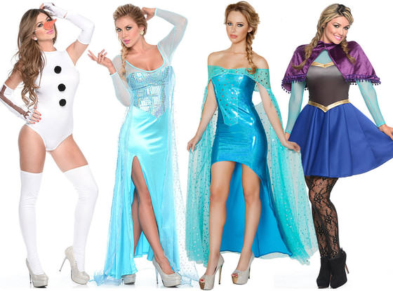 UNILAD sexy frozen halloween costume33925 Here Are This Year's Most Predictable Halloween Costumes