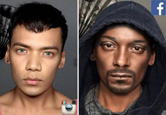 Snoop Dogg Loved This Make Up Artists Amazing Impression Of Him UNILAD snoop dogg make up WEB2