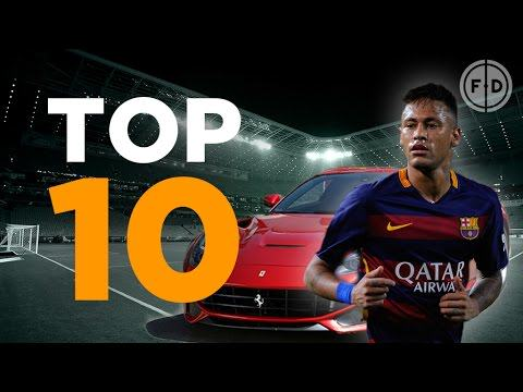 Watch: Top 10 Most Expensive Footballers' Cars 2015