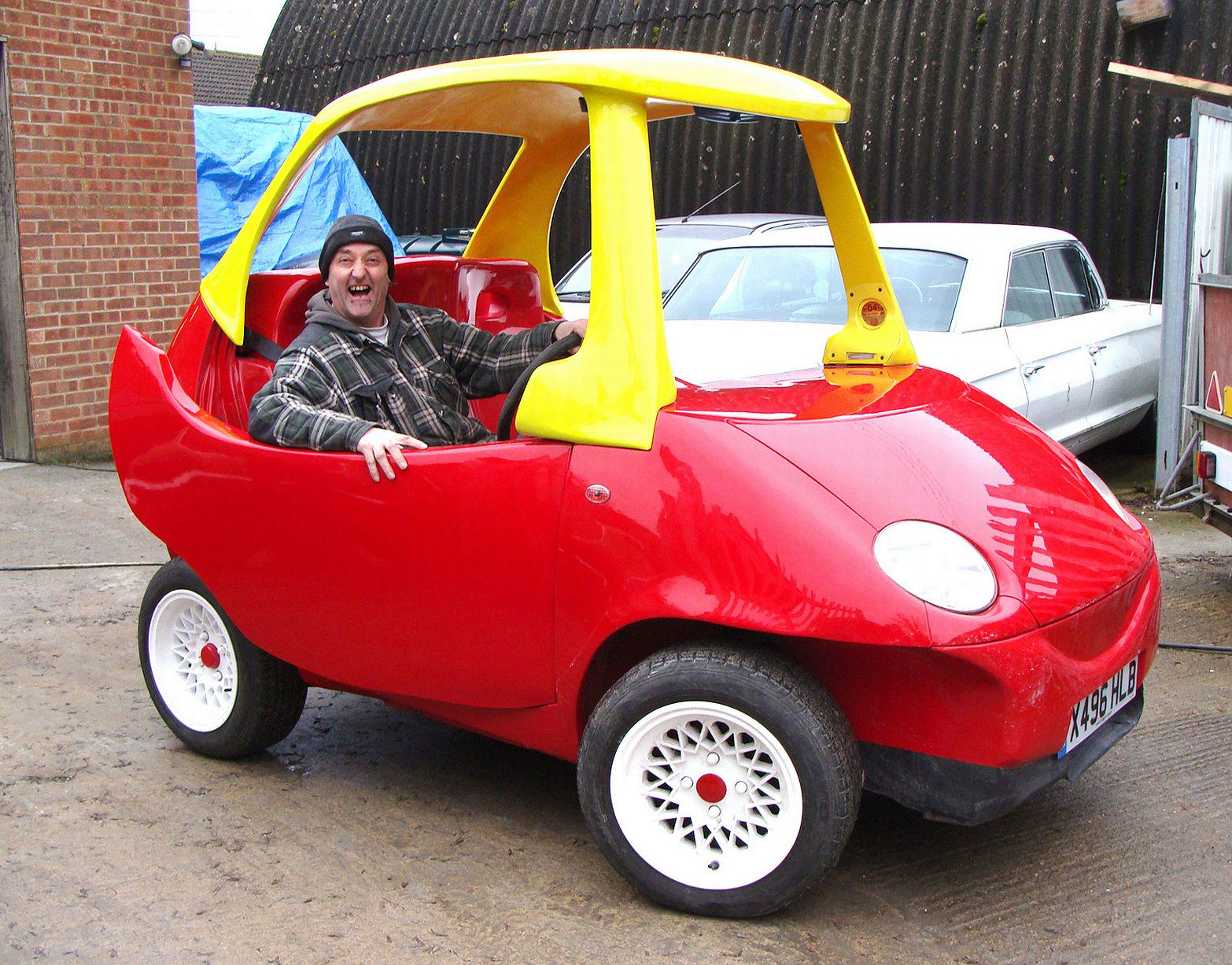 UNILAD wenn70456 A Roadworthy Version Of Your Favourite Childhood Toy Car Is Now For Sale
